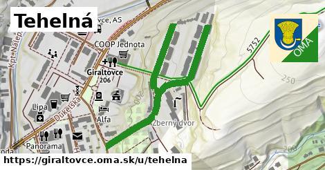ilustrácia k Tehelná, Giraltovce - 561m