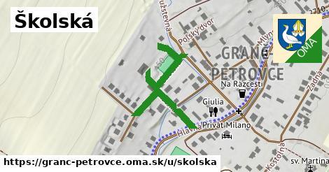 ilustrácia k Školská, Granč-Petrovce - 384m