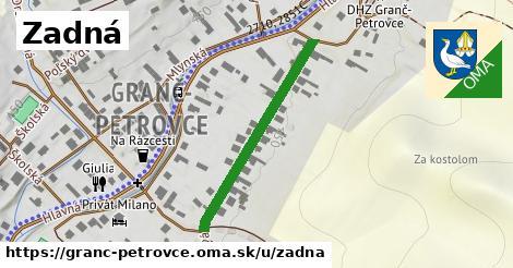 ilustrácia k Zadná, Granč-Petrovce - 315m