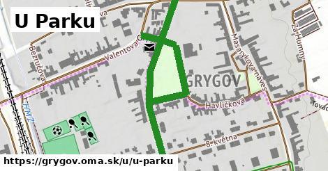 ilustrácia k U Parku, Grygov - 0,73km