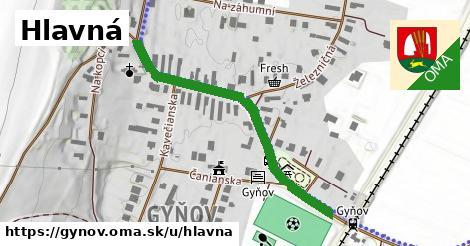 ilustrácia k Hlavná, Gyňov - 448m