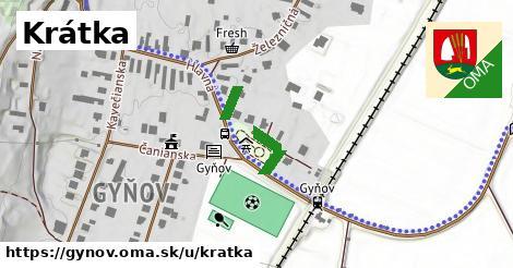 ilustrácia k Krátka, Gyňov - 140m