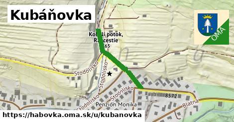 ilustrácia k Kubáňovka, Habovka - 404m