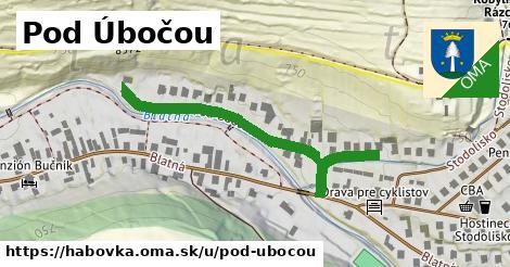 ilustrácia k Pod úbočou, Habovka - 428m