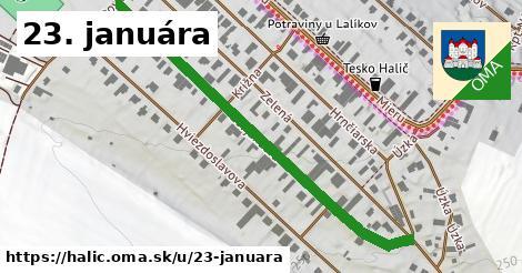 ilustrácia k 23. januára, Halič - 563m