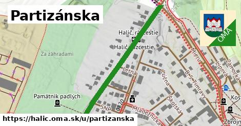 ilustrácia k Partizánska, Halič - 448m