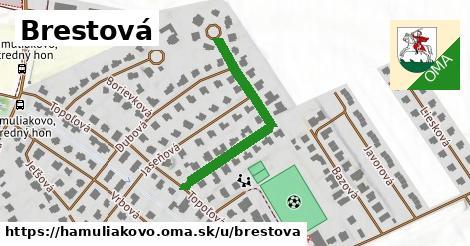 ilustrácia k Brestová, Hamuliakovo - 347m