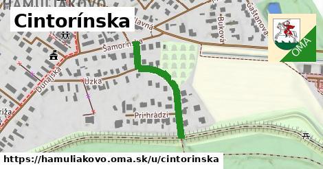 ilustrácia k Cintorínska, Hamuliakovo - 284m