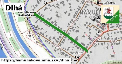 ilustrácia k Dlhá, Hamuliakovo - 397m