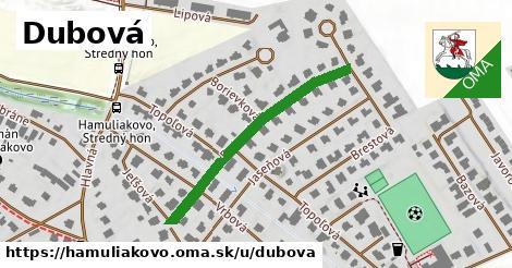 ilustrácia k Dubová, Hamuliakovo - 354m