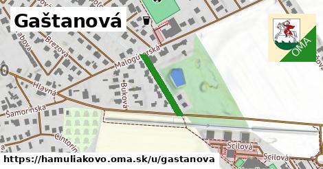 ilustrácia k Gaštanová, Hamuliakovo - 165m