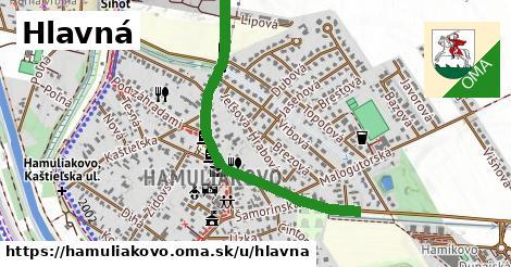 ilustračný obrázok k Hlavná, Hamuliakovo
