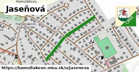 ilustrácia k Jaseňová, Hamuliakovo - 332m