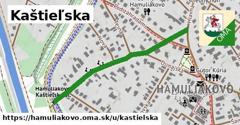 ilustračný obrázok k Kaštieľská, Hamuliakovo