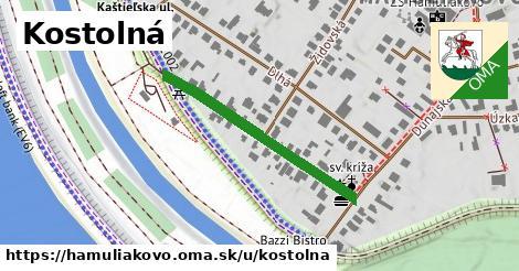 ilustrácia k Kostolná, Hamuliakovo - 329m