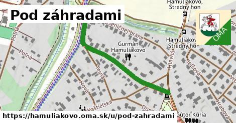 ilustrácia k Pod záhradami, Hamuliakovo - 419m