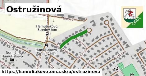 ilustrácia k Ostružinová, Hamuliakovo - 163m