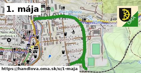ilustrácia k 1. mája, Handlová - 1,26km