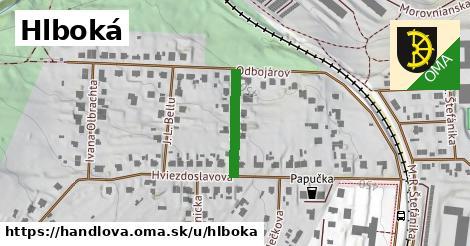 ilustrácia k Hlboká, Handlová - 167m