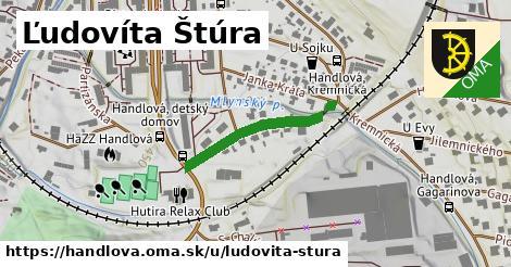 ilustrácia k Ľudovíta Štúra, Handlová - 244m