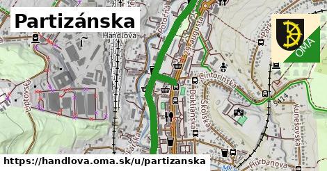 ilustrácia k Partizánska, Handlová - 1,03km