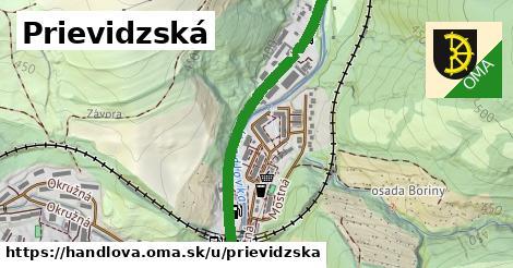 ilustrácia k Prievidzská, Handlová - 2,4km