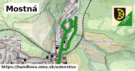 ilustrácia k Mostná, Handlová - 1,20km