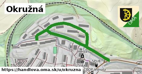 ilustrácia k Okružná, Handlová - 0,76km