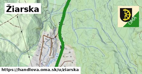 ilustrácia k Žiarska, Handlová - 3,6km