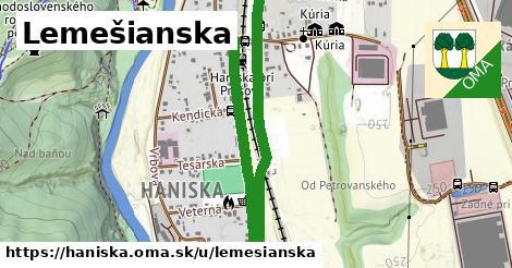 ilustračný obrázok k Lemešianska, Haniska