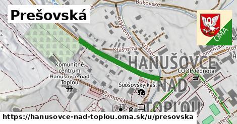 ilustrácia k Prešovská, Hanušovce nad Topľou - 280m