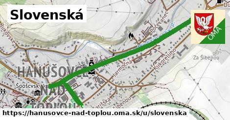 ilustrácia k Slovenská, Hanušovce nad Topľou - 468m