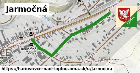 ilustrácia k Jarmočná, Hanušovce nad Topľou - 531m