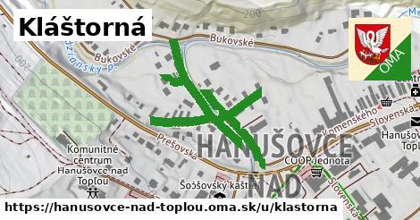 ilustrácia k Kláštorná, Hanušovce nad Topľou - 0,71km