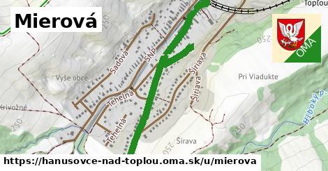 ilustrácia k Mierová, Hanušovce nad Topľou - 1,71km