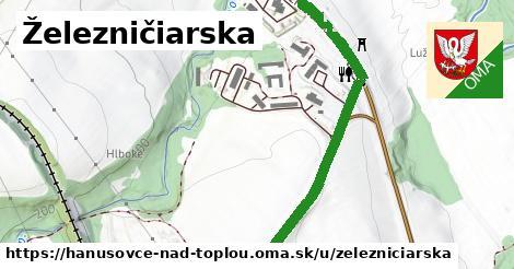 ilustrácia k Železničiarska, Hanušovce nad Topľou - 1,94km