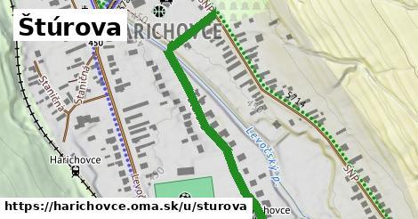 ilustrácia k Štúrova, Harichovce - 459m