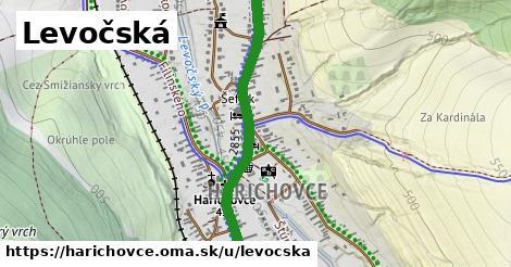 ilustrácia k Levočská, Harichovce - 2,0km