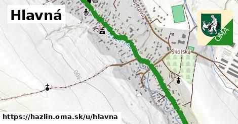 ilustrácia k Hlavná, Hažlín - 2,7km