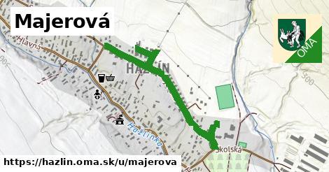 ilustrácia k Majerová, Hažlín - 0,70km