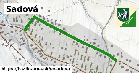 ilustračný obrázok k Sadová, Hažlín
