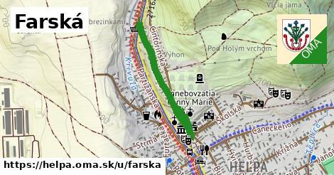 ilustrácia k Farská, Heľpa - 673m