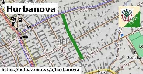 ilustračný obrázok k Hurbanova, Heľpa