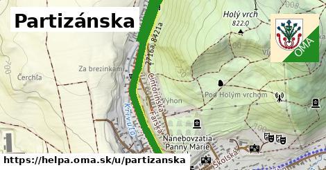 ilustračný obrázok k Partizánska, Heľpa