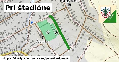 ilustrácia k Pri štadióne, Heľpa - 246m
