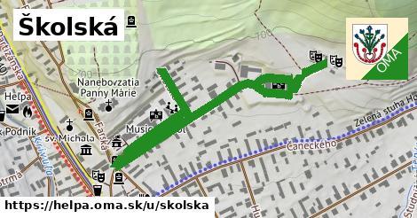 ilustrácia k Školská, Heľpa - 0,84km