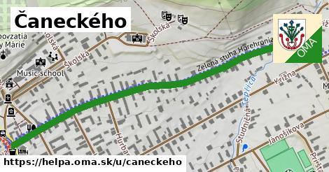 ilustrácia k Čaneckého, Heľpa - 0,74km