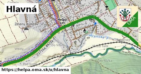 ilustrácia k Hlavná, Heľpa - 1,65km