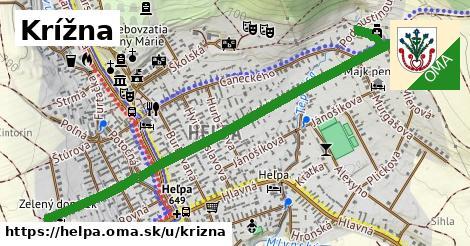 ilustrácia k Krížna, Heľpa - 1,37km