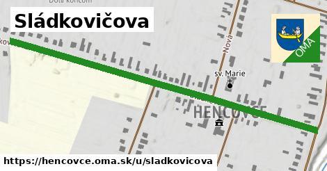 ilustrácia k Sládkovičova, Hencovce - 0,72km